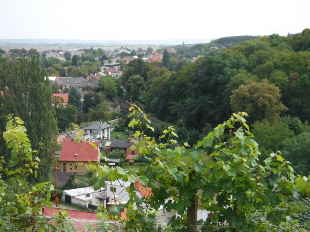 The view from the Church of St. Barbara