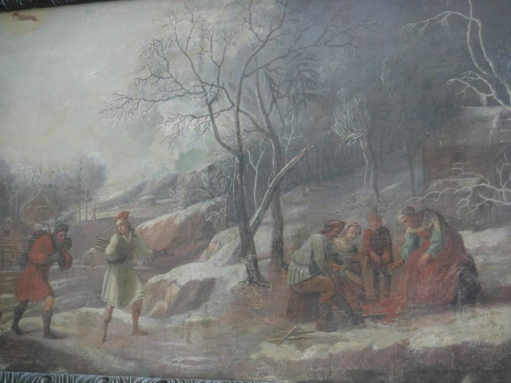 Czech lands in winter