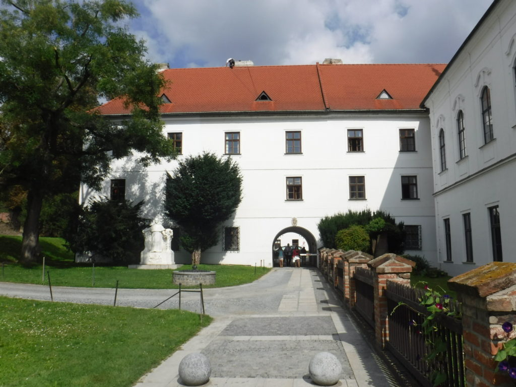 The abbey where Gregor Mendel lived and worked