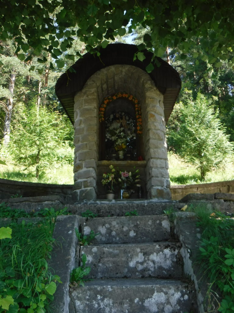 A shrine outside Zábiedovo