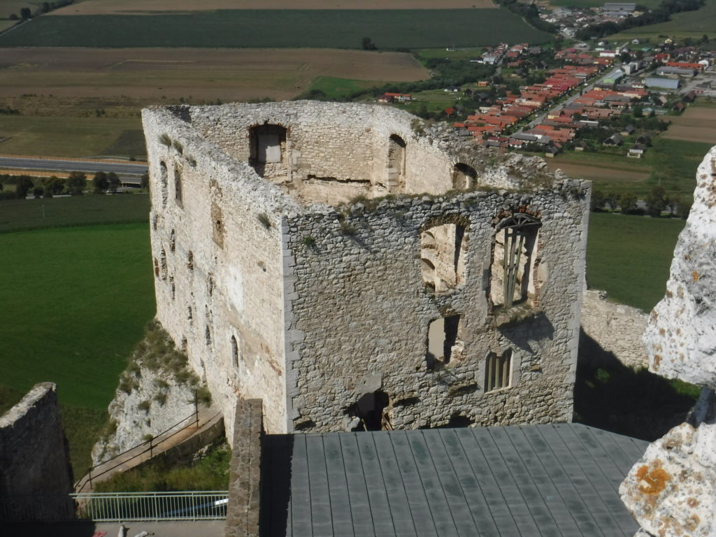 The Romanesque palace
