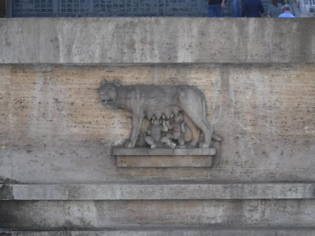 Romulus and Remus (and mum)