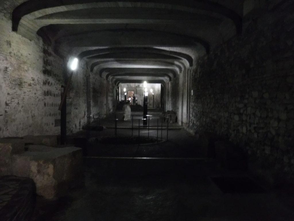 The underground basilica