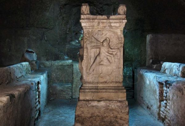 A shrine to Mithras