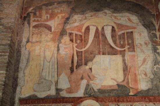 Early Christian fresco